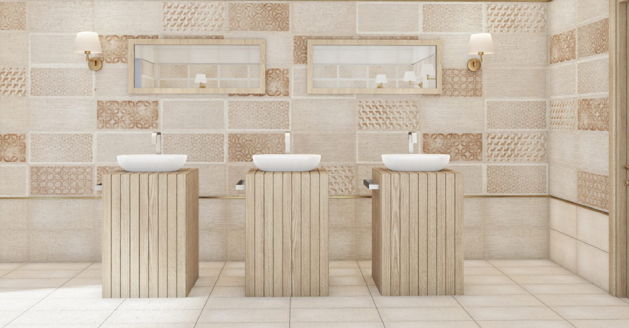 10 - Incredible Bathroom Wall Tile Design Options From Q-BO Ceramics