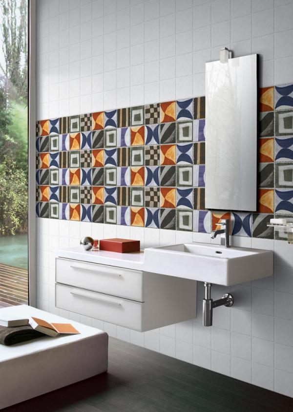 For Bigger Bathroom You Can Go With Dark Colors Or Matching With Your  Bedroom Colors. For Stylish And Trendy Look Aroma Glossy Tiles Are Best Fit  To Make ...